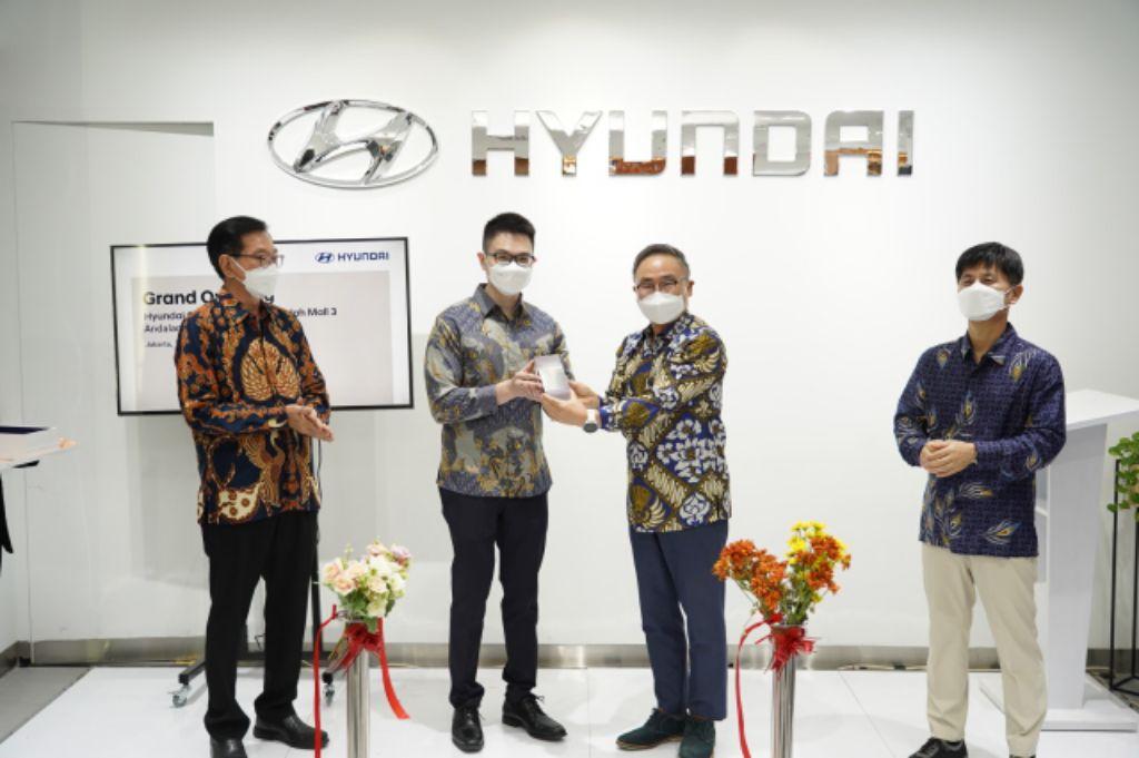 Hyundai Motors Indonesia Hadirkan City Store ke-4 diPondok Indah Mall