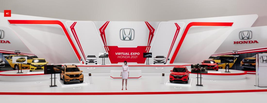 Honda Jakarta Center Gelar Pameran Bertajuk 'VIRTUAL EXPO HONDA'