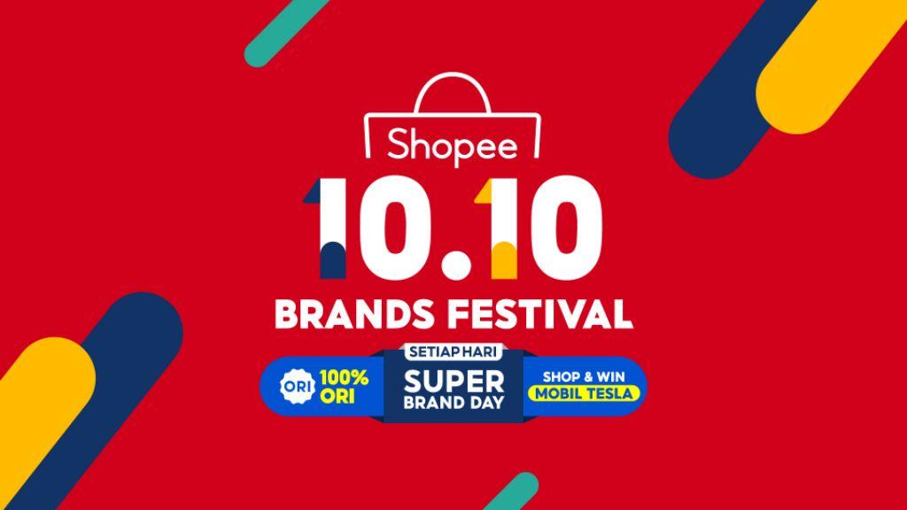 Hadirkan 10.10 Brands Festival, Shopee Berikan Penawaran yang Lebih Besar dan Menarik!