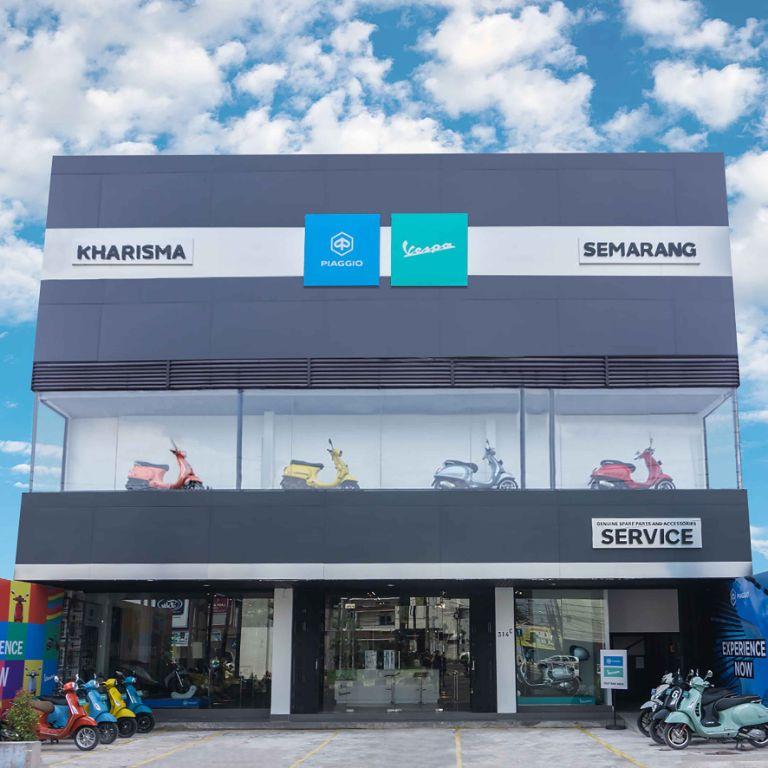 Layanan Premium Motoplex untuk Piaggio dan Vespa Terbaru Hadir di Jawa Tengah