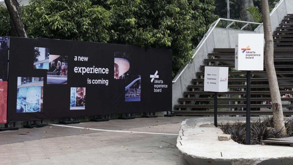 Kolaborasi Pemprov DKI Jakarta - JXB Hadirkan Creative Teaser di Taman Dukuh Atas
