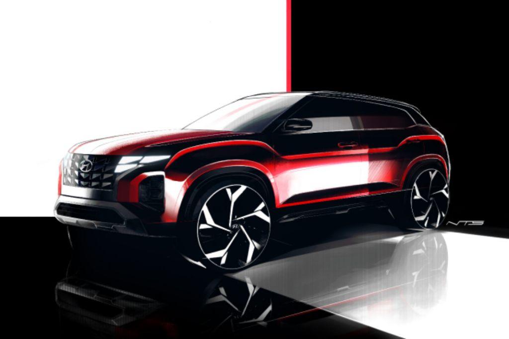 Sketsa Desain Hyundai CRETA, SUV Pertama Buatan Indonesia yang Futuristik