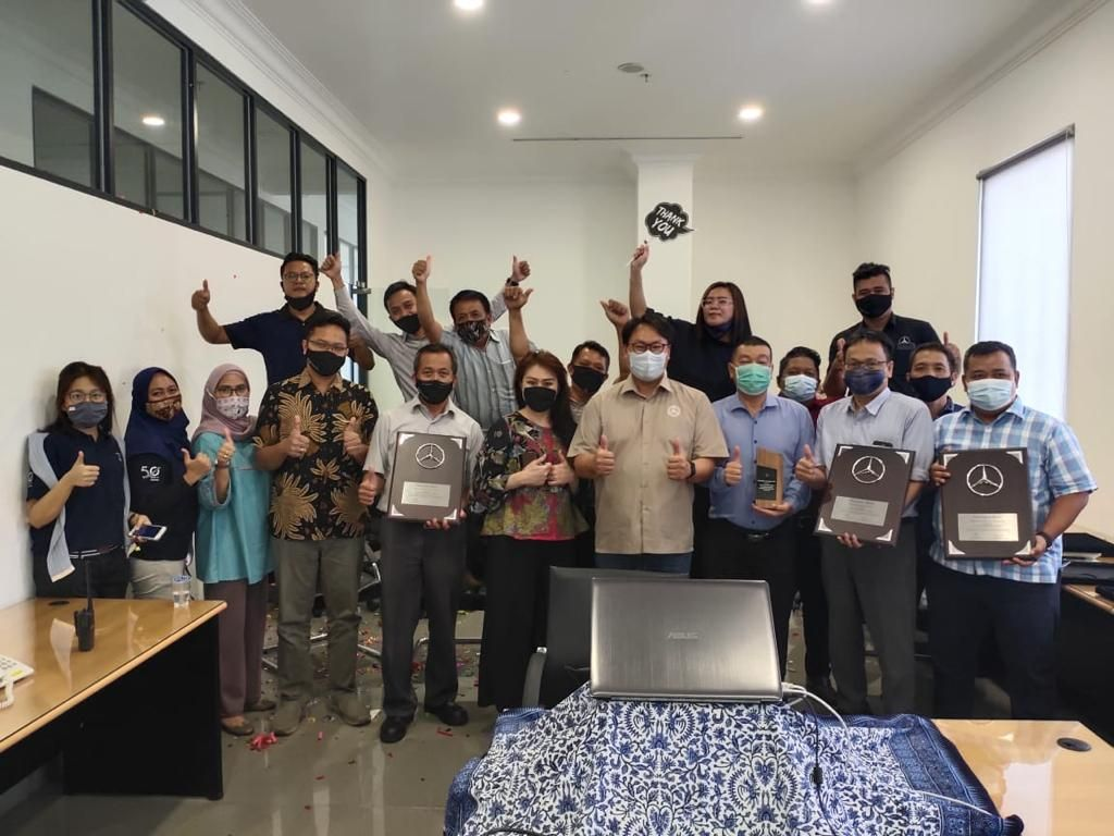 DCVI Nobatkan PT Hartono Raya Motor Jakarta sebagai Dealer of the Year 2019