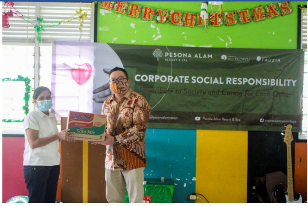 Pesona Alam Resort & Spa Berbagi Kasih di Yayasan Bukit Karmel Ciawi