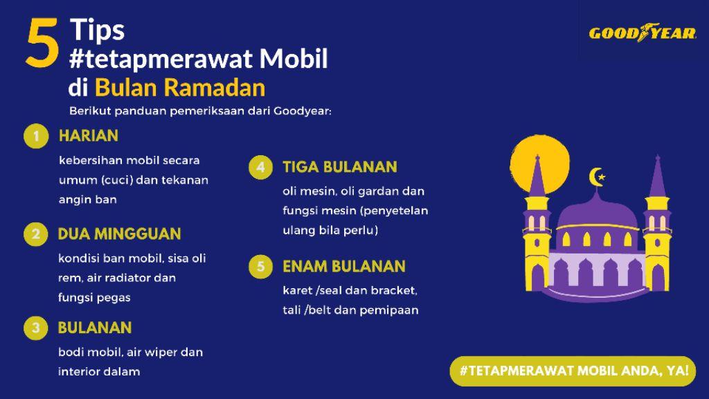 Goodyear Indonesia Himbau Biasakan Merawat Kendaraan Secara Rutin Meski Tidak Mudik!