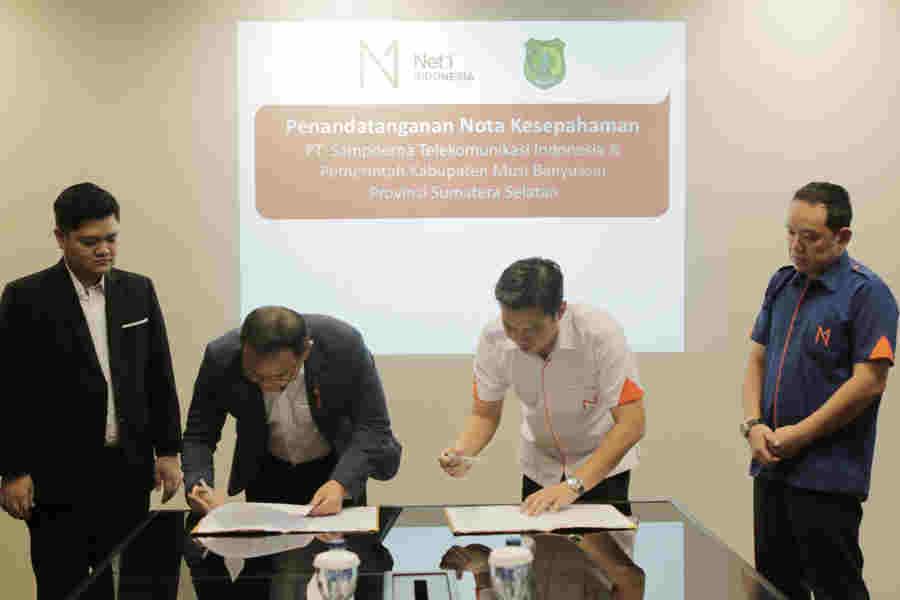 Net1 Indonesia Ambil Bagian Dari MUBA Bergerak