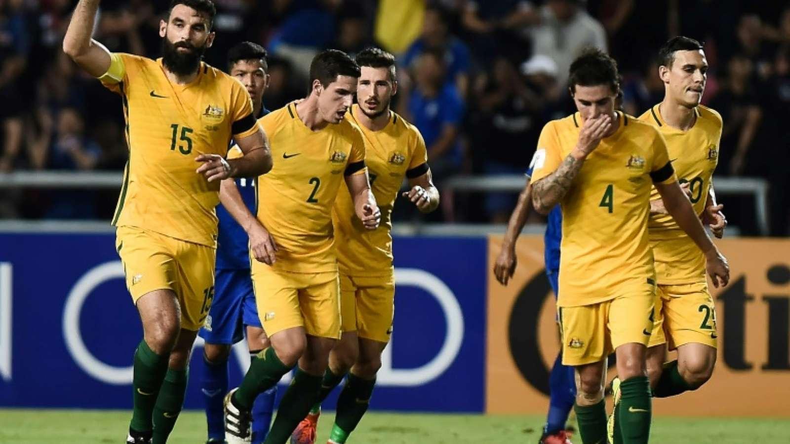 Kalahkan Honduras 3-1 Australia Pastikan Lolos Putaran Piala Dunia 2018