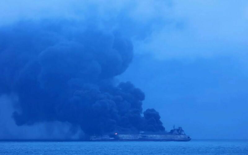 Kecelakaan Kapal Tanker dan Kapal Cargo di Cina, 32 ABK Hilang