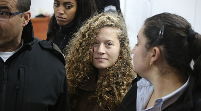 Gadis Palestina Terancam Hukuman 15 Tahun Usai Menampar Tentara Israel