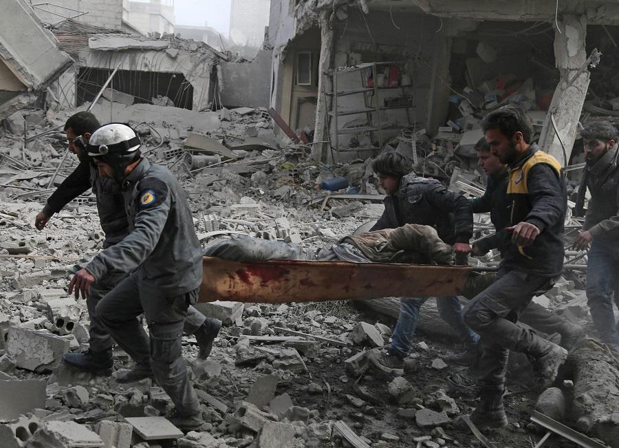 Rombongan Bantuan untuk Ghouta Ditunda, Khawatir Serangan Kimia