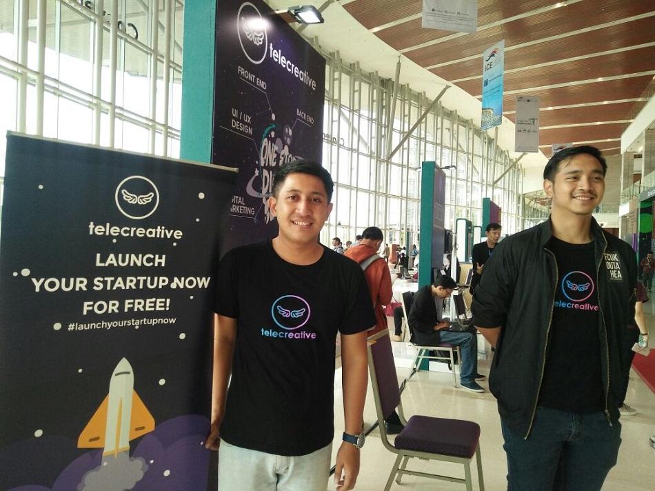 'Telecreative' One Stop Digital Service Pelaku Startup
