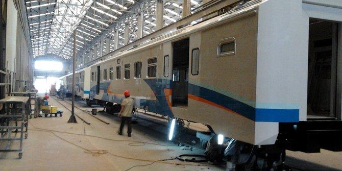 PT INKA Akan Kirim Rangkaian LRT Bulan April Ke Palembang