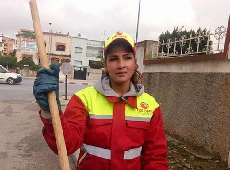 Saana Maatat, Tukang Sapu Jalan Pemenang Kontes Kecantikan di Maroko