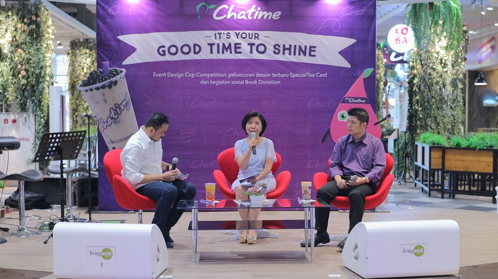"""Lewat """"IT'S YOUR GOOD TIME TO SHINE"""", CHATIME Gelar Kompetisi Design Cup"""