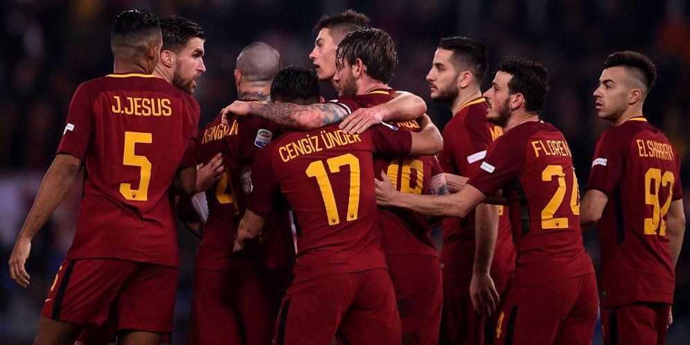 Balikkan Keadaan, AS Roma Sukses Kandaskan Barcelona Lewat Kemenangan 3-0