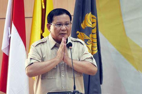 Maju Jadi Capres 2019, Prabowo: Saya Menyatakan Diri Tunduk dan Patuh