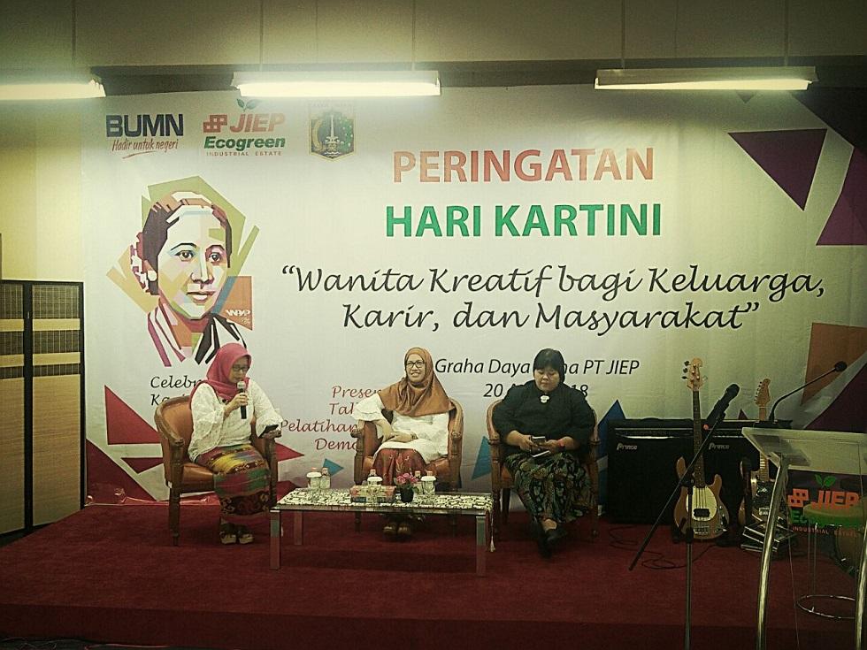 Wujud Peran Aktif PT JIEP dalam Mengoptimalisasi Peran Wanita dalam Membangun Bangsa