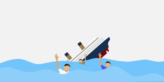Kapal Rombongan Kapolres Labuhanbatu Tenggelam, Petugas Masih Cari Wakapolres