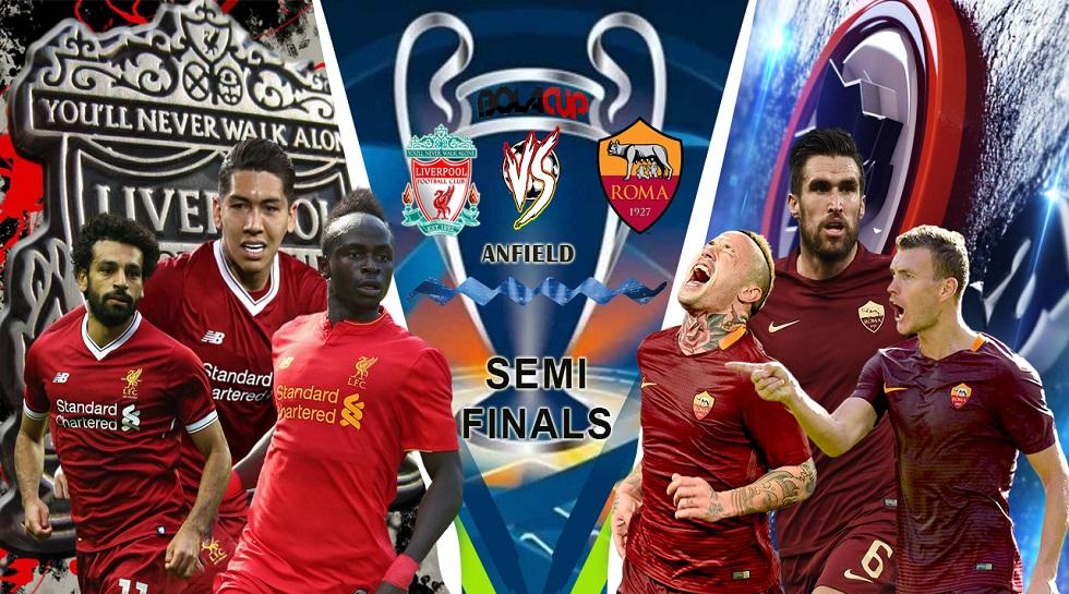 Fakta dalam Sejarah Jelang Laga Liverpool vs AS Roma