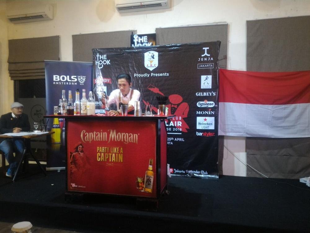 Kompetisi Kemahiran Meracik Cocktail Jakarta Bartender Club