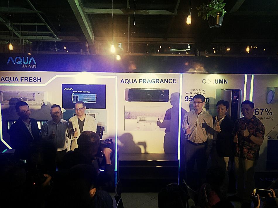 AQUA Japan Aplikasikan Teknologi Refrigator Terdepan Lewat Rangkaian AC 'Nebula Series'