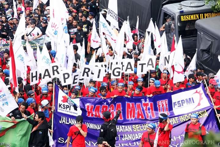 Wagub Sandiaga: Peringatan May Day Tersebar di 5 Wilayah