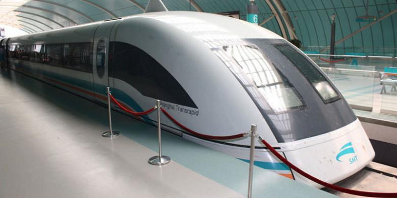 Capai kesepakatan, China-Jepang kembangkan kereta jet