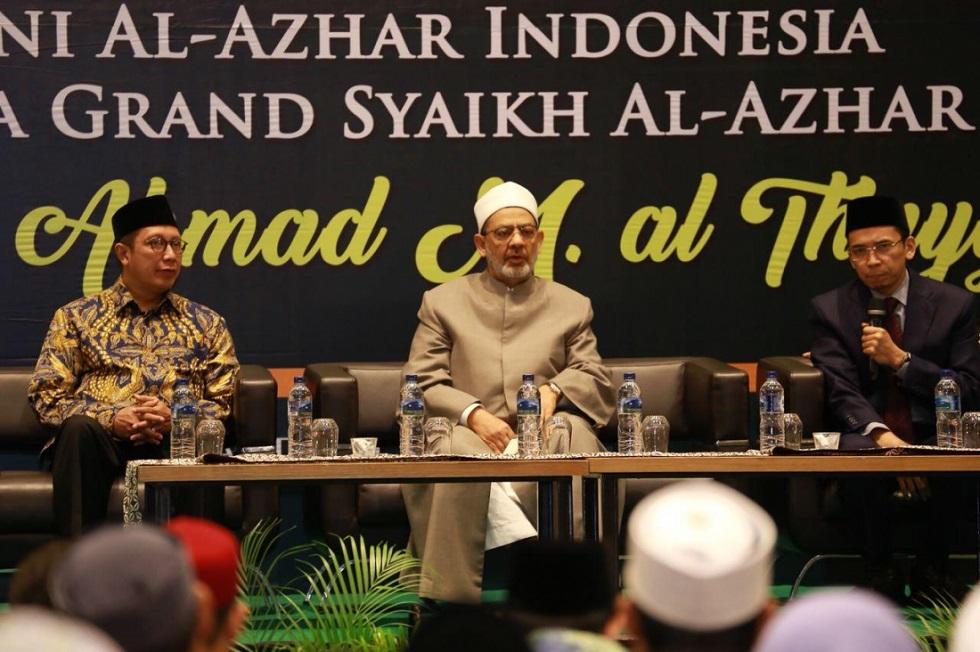 Kunjungi Indonesia, Grand Syekh Thayeb Apresiasi Perkembangan Islam Tanah Air