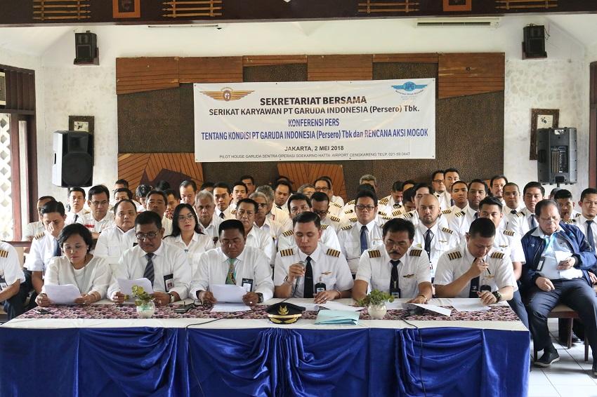 Pilot dan Karyawan Garuda Indonesia Ancam Mogok Kerja