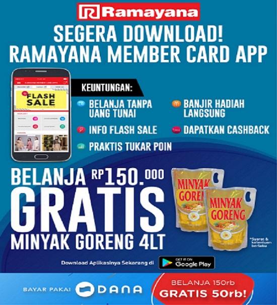 Ramayana Member Card App, Sebuah Terobosan Dari Ramayana Departement Store