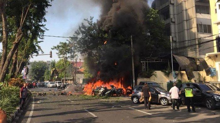 Surabaya Diguncang Bom Bunuh Diri, Sembilan Tewas dan 40 Terluka