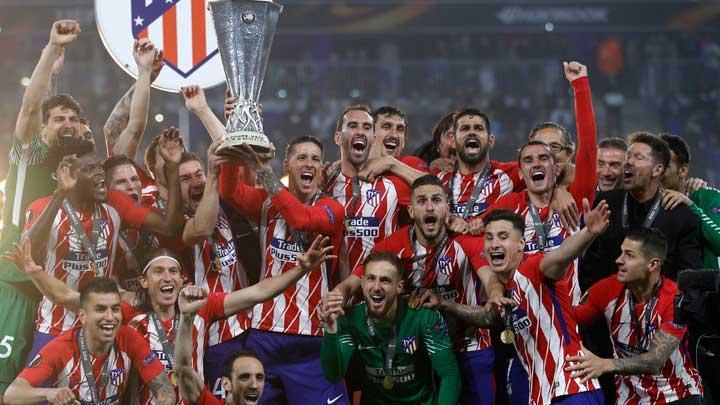 Dua Gol Griezmann Antar Atletico Madrid juara Liga Europa 2018
