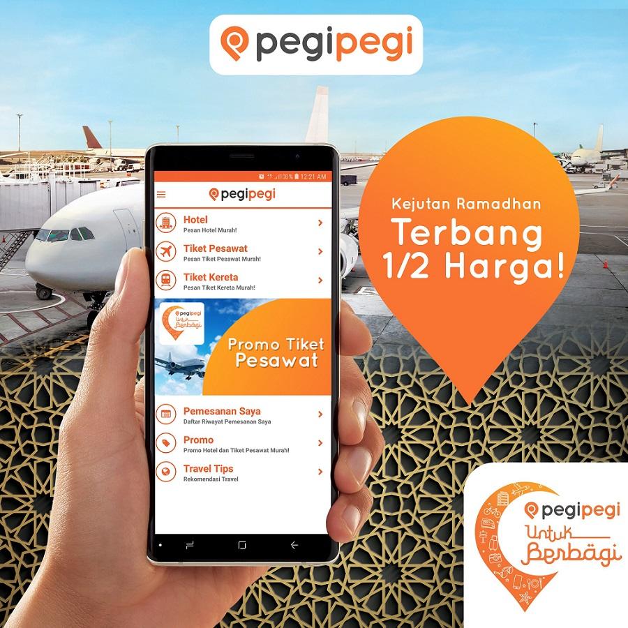 Tren Pemesanan Tiket Pesawat Jelang Periode Mudik Lebaran 2018