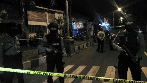 Malam Takbiran, Letusan Tembakan Densus 88 Tangkap Terduga Teroris