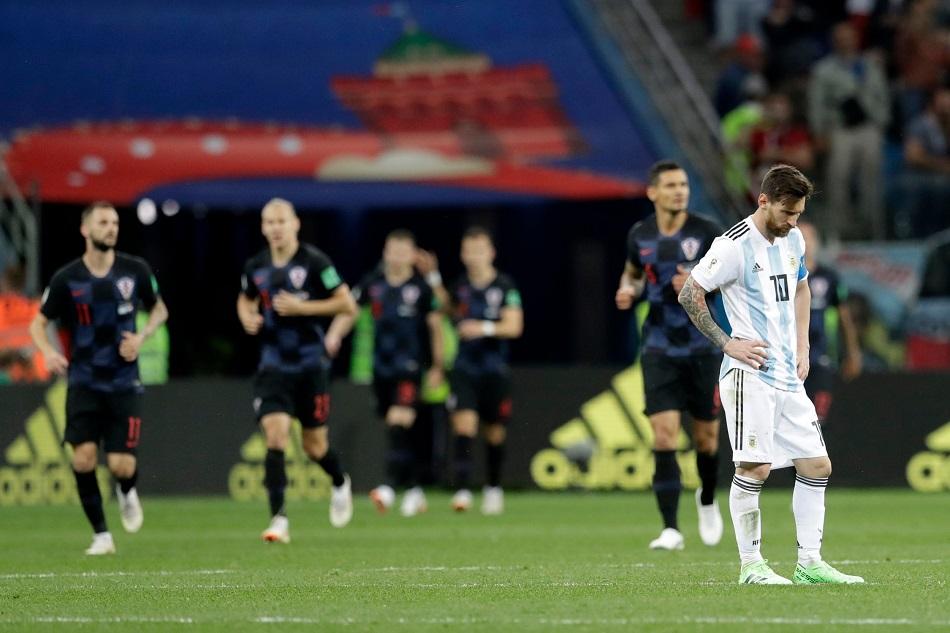 Argentina Kritis, Sampaoli Salahkan Taktik dan Messi