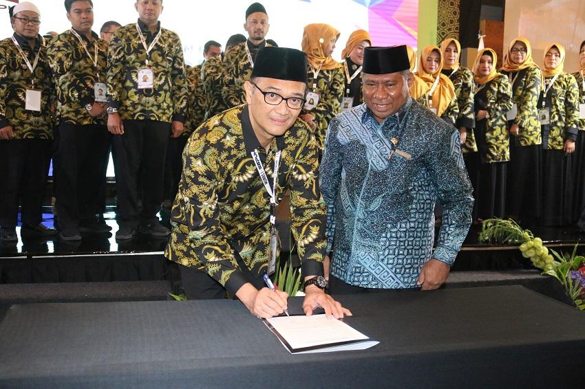 Sah ! Syam Resfiadi Resmi Jabat Ketua Umum SAPUHI