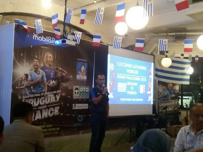 Nobar Piala Dunia  2018 Sebagai Bentuk Apresiasi mobil88 Bagi Pelanggan