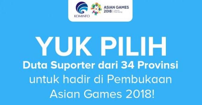 Sambut Sea Games 2018 KOMINFO Perkenalkan Aplikasi Duta Suporter
