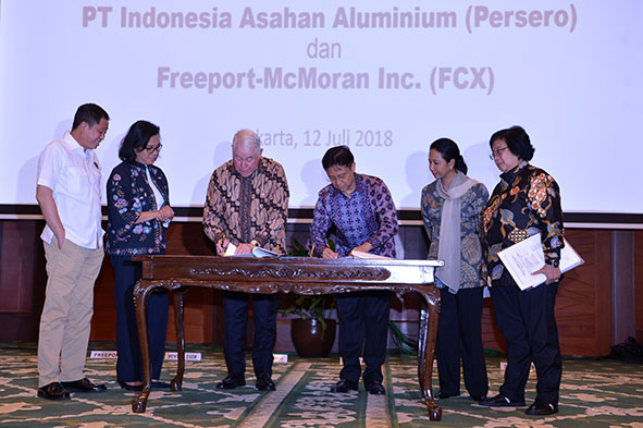 DEAL !!! Indonesia Kuasai 51 persen Divestasi Saham Freeport