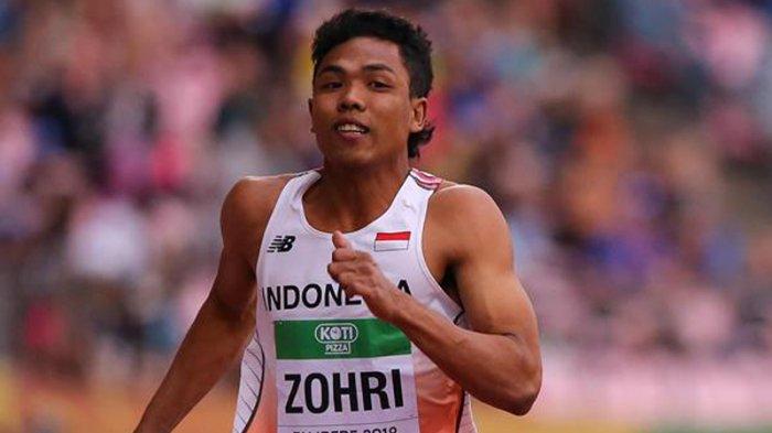 Kedatangan Peraih Emas Lari 100 Meter U-20 Disambut Seremonial di Bandara Soekarno-Hatta