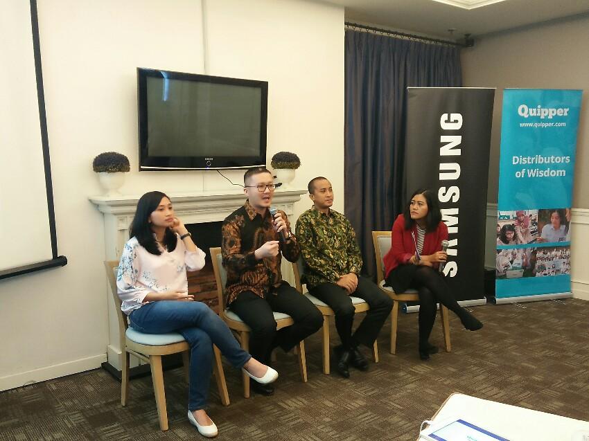 Tingkatkan Mutu Pendidikan, Quipper Gandeng Samsung