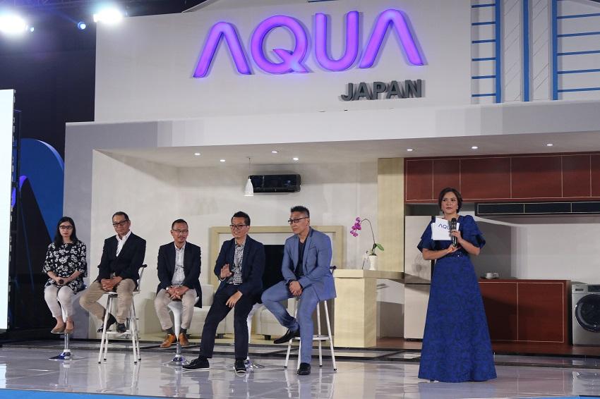 Hadir Dengan Produk-Produk Unggulan Middle-Up, AQUA Japan Optimis Capai Target