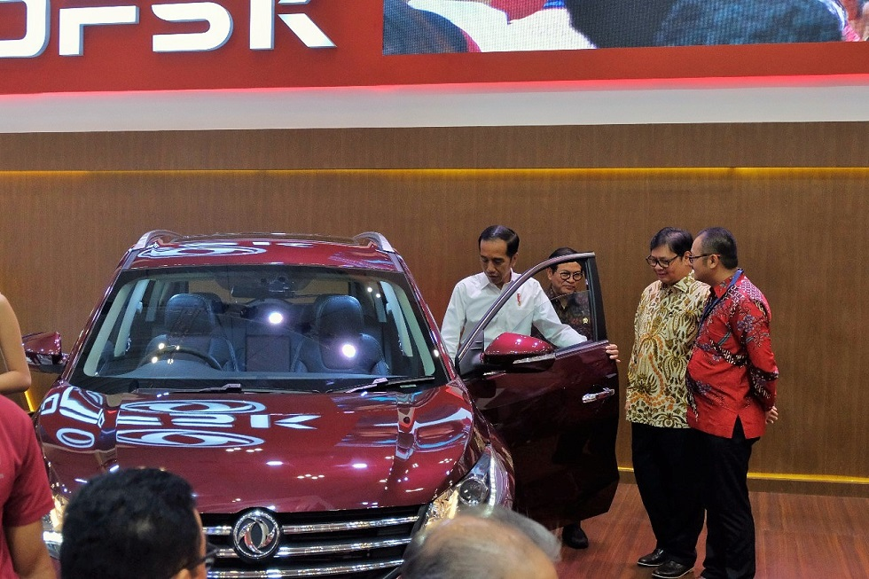 GIIAS 2018, DFSK Glory 580 Catat 316 Unit Penjualan