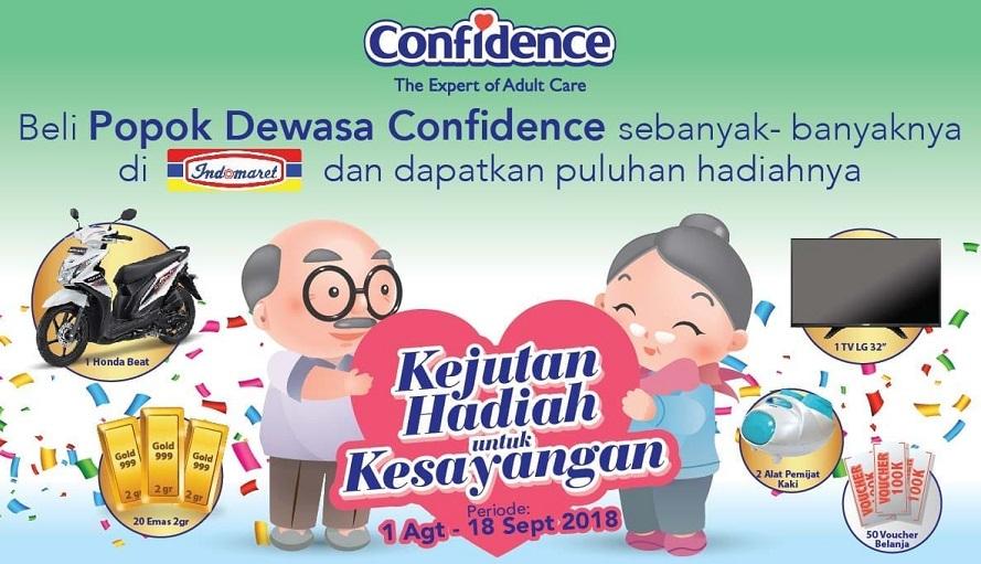 Beli Produk Confidence di Indomaret Bisa Bawa Pulang Honda Beat