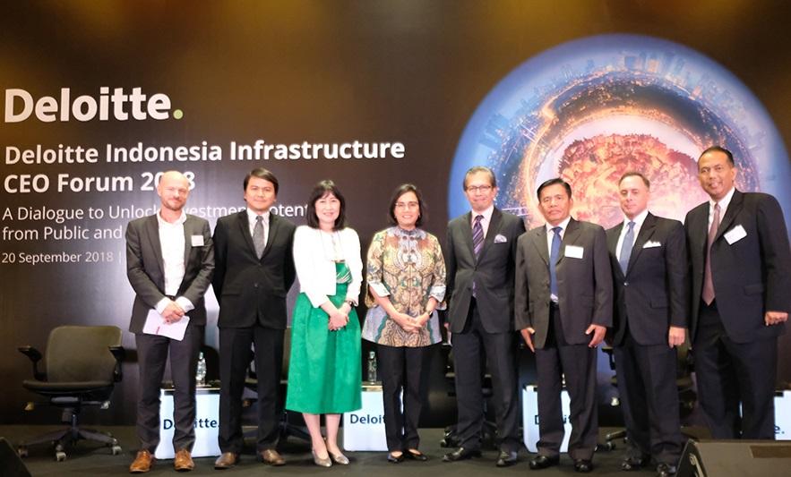 Hadir di Deloitte Infrastructure Forum 2018, Menkeu Kupas Apa Saja Tantangan Pembangunan Infrastruktur