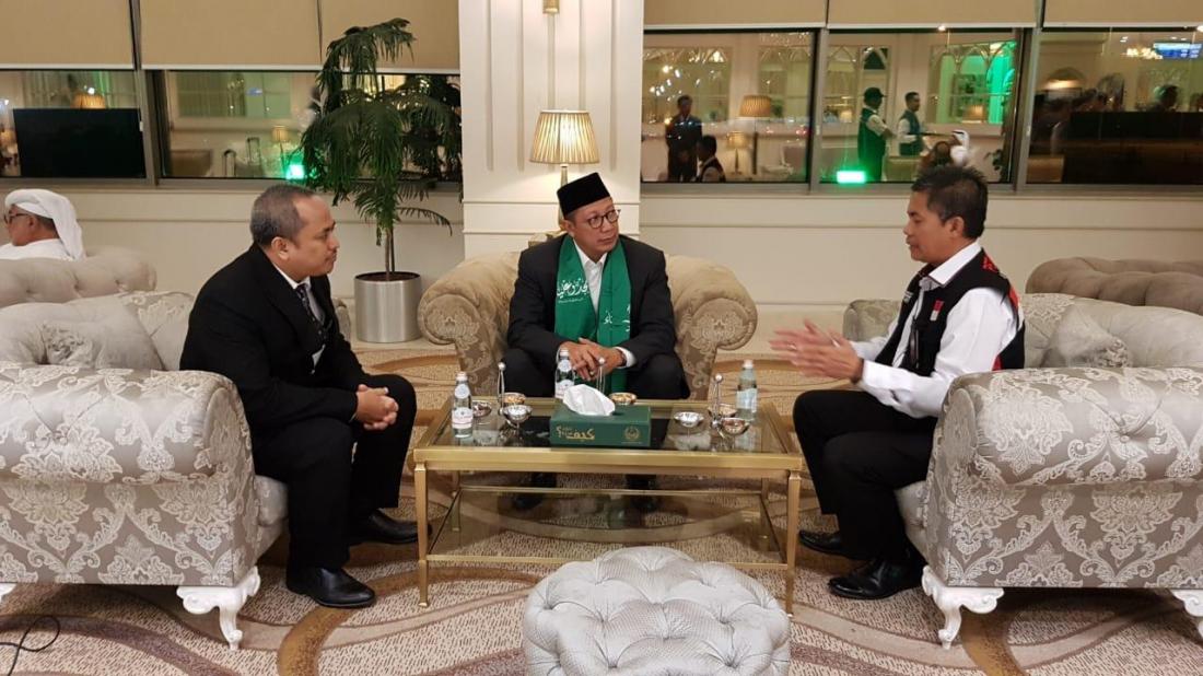 Menag Rapat Evaluasi Penyelenggaraan Haji ke Arab Saudi