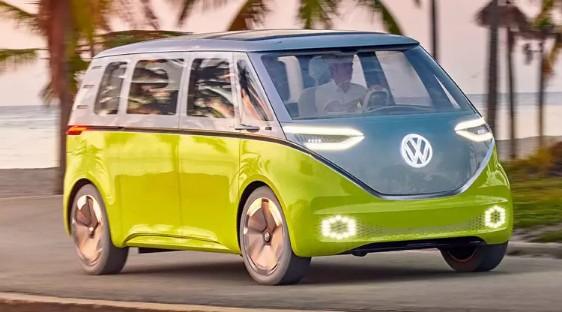 Keren!!! VW produksi Kombi Listrik, Berikut Penampakannya
