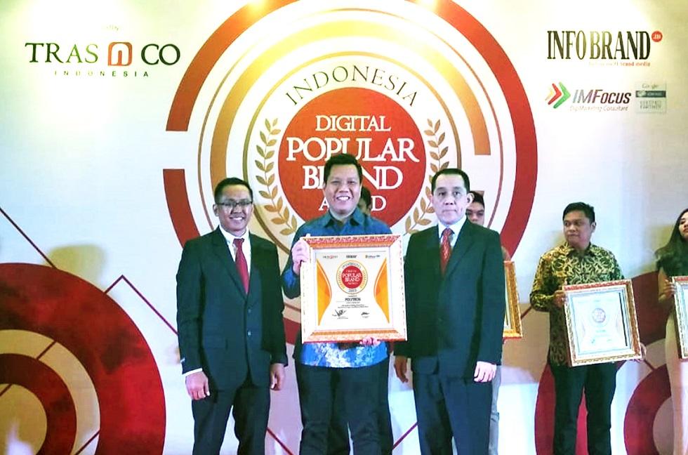 POLYTRON Kembali Sabet Penghargaan di Indonesia Digital Popular Brand 2018
