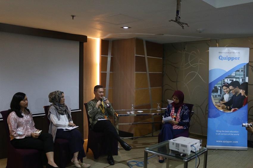 Forum Diskusi Ajang Quipper Dekatkan IPTEK Kepada Masyarakat