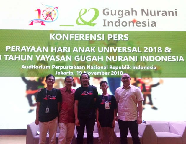 Refleksi 10 Tahun Yayasan Gugah Nurani Indonesia Ulas Isu Anak di Peringatan Hari Anak Global